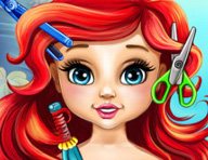 Baby Ariel Real Haircuts Game