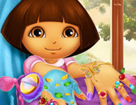 Dora Nails Spa Game